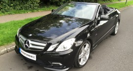 2011/11 Mercedes-Benz E250 2.1 CDI BlueEFFICIENCY Sport Cabriolet Auto